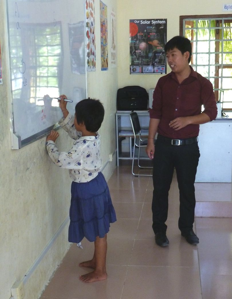 Education for girls in Cambodia