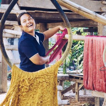 Weavers from Isan province