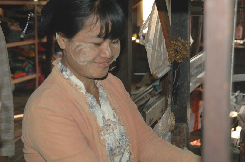 Wevers uit Myanmar