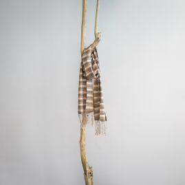 Zijden Fair Trade sjaal Moerbei