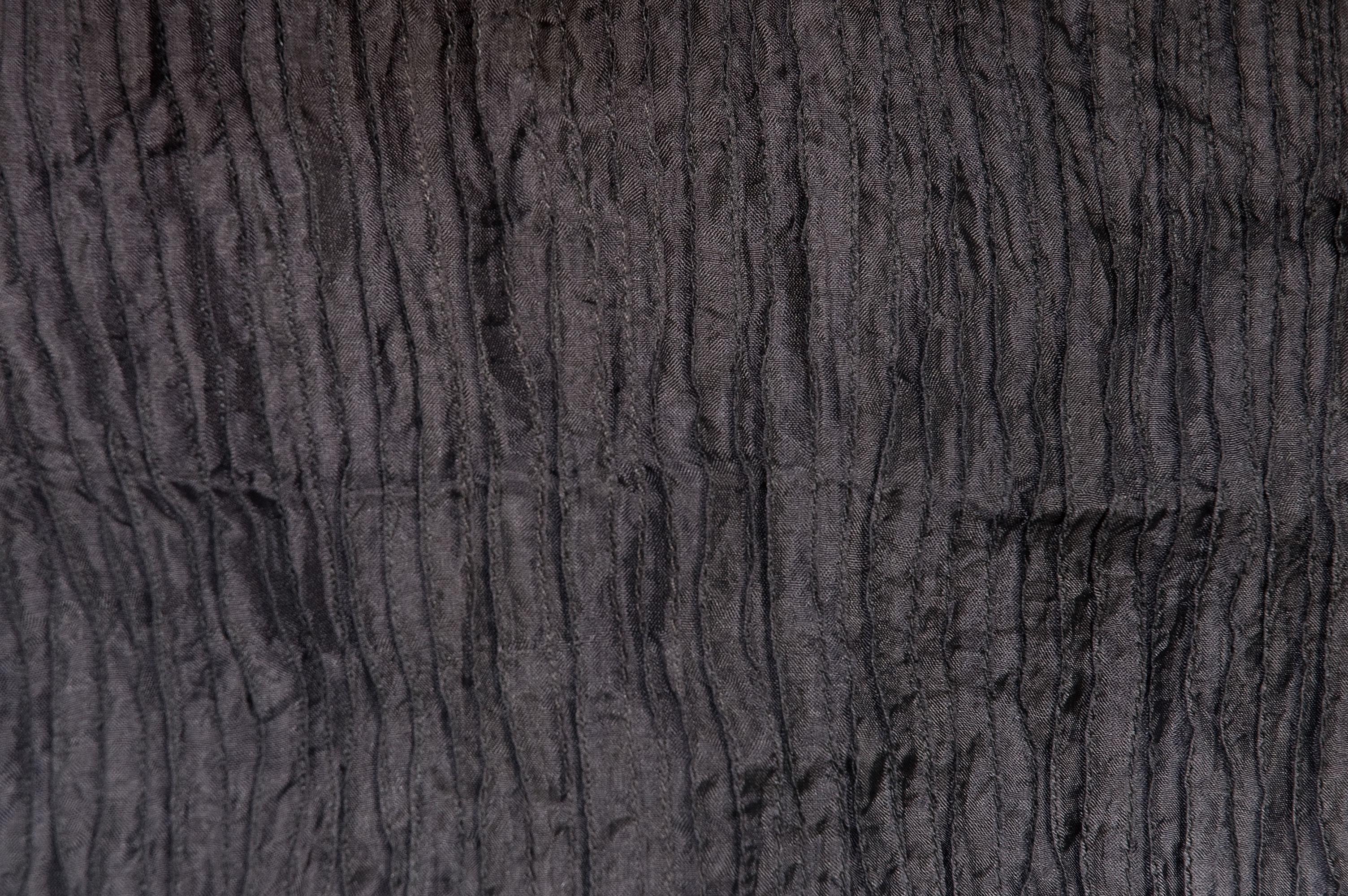 Zijden sjaal in zwart, wit en grijs