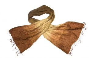 Silk scarf tourmaline