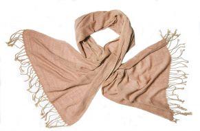 Katoenen sjaal in roze