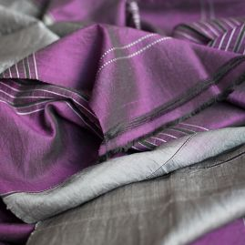 Silk scarf Arghand purple