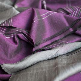 Silk scarf Arghand purple