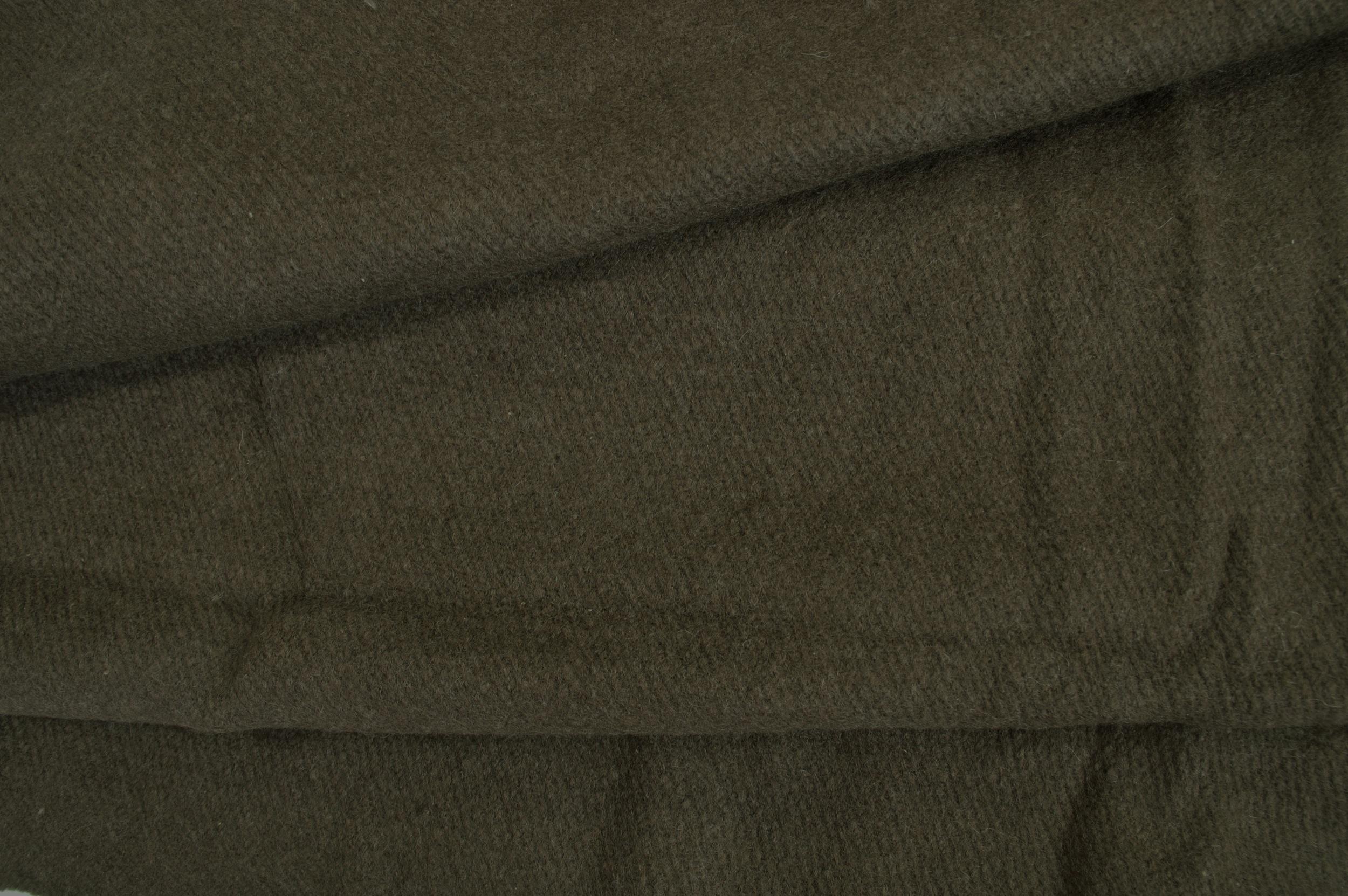 Sjaal van yak wol in bruin-stole