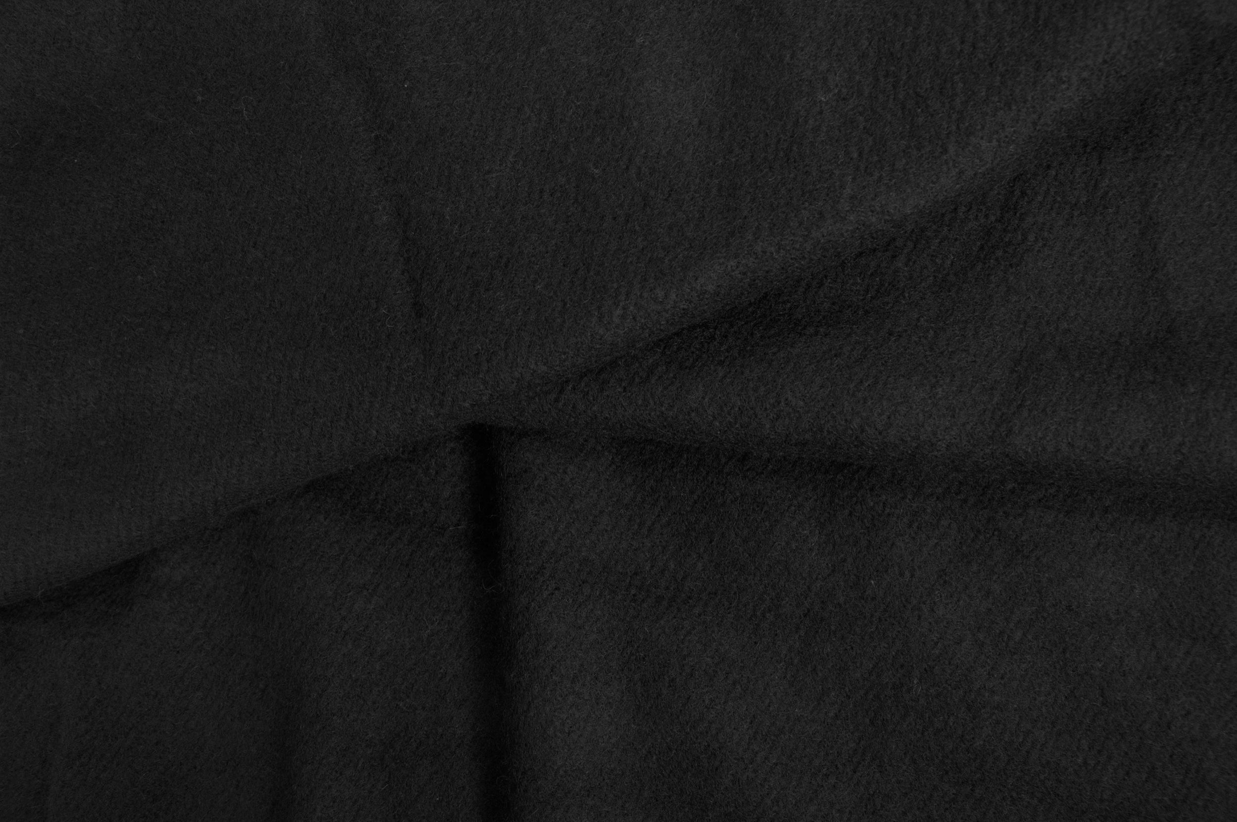 Sjaal van yak wol in zwart-stole