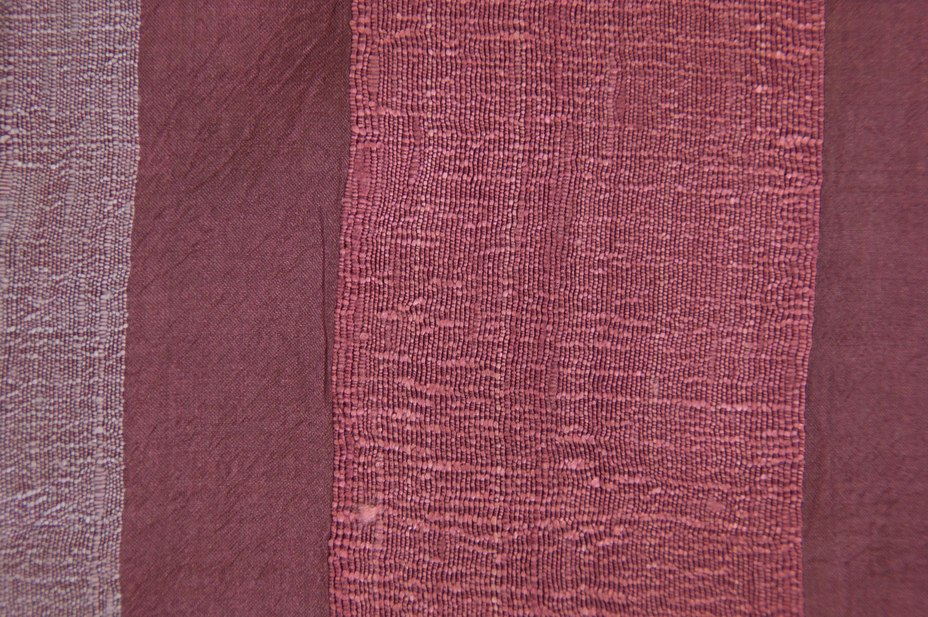 Zijden sjaal in wijnrood