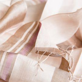 Silk fair trade scarf purify
