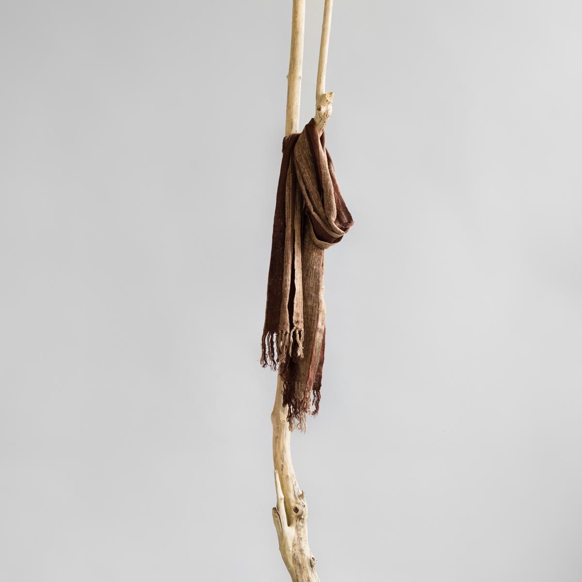Wild silk scarf jacanda