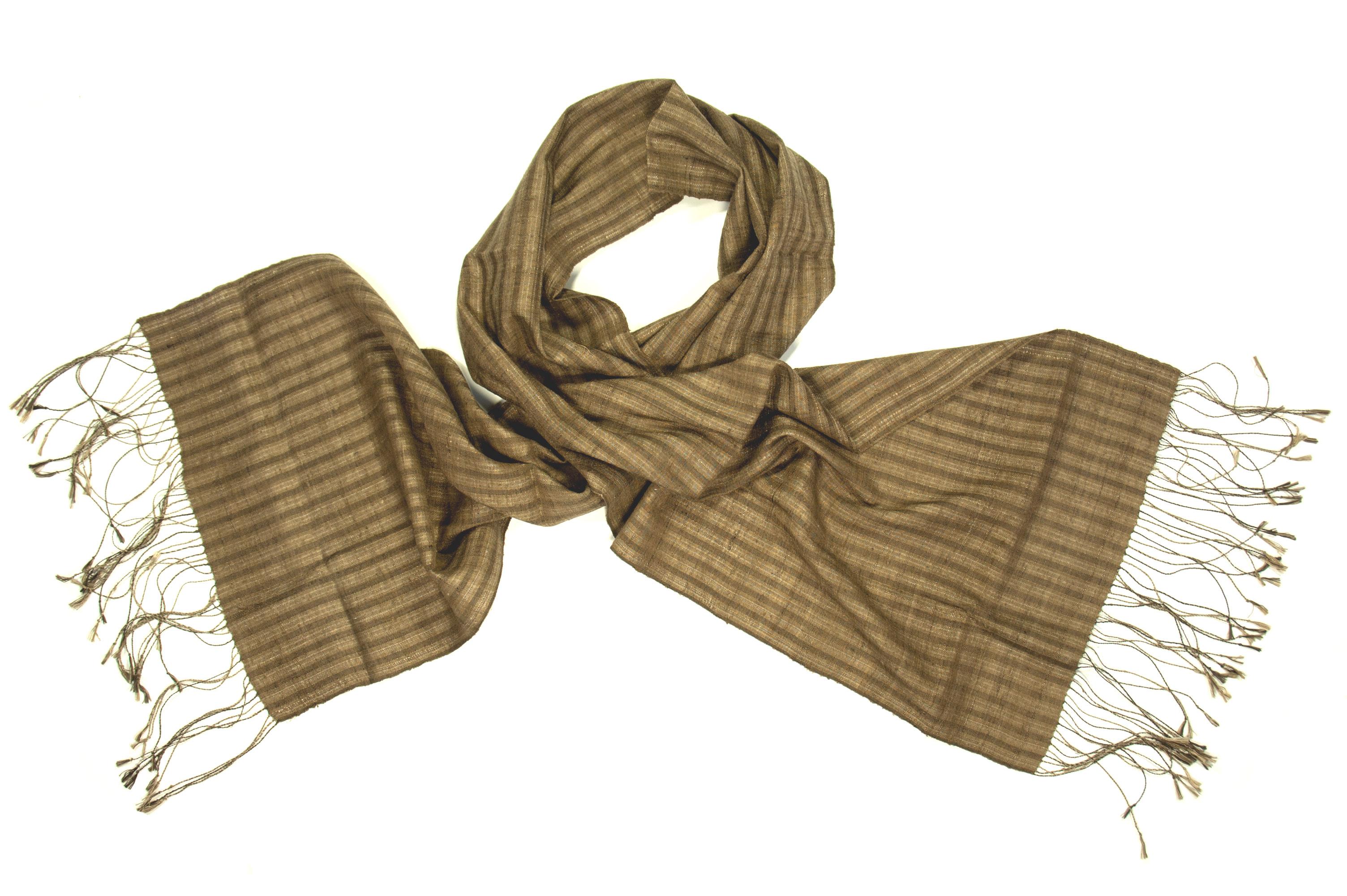 Organic silk scarf sengkham