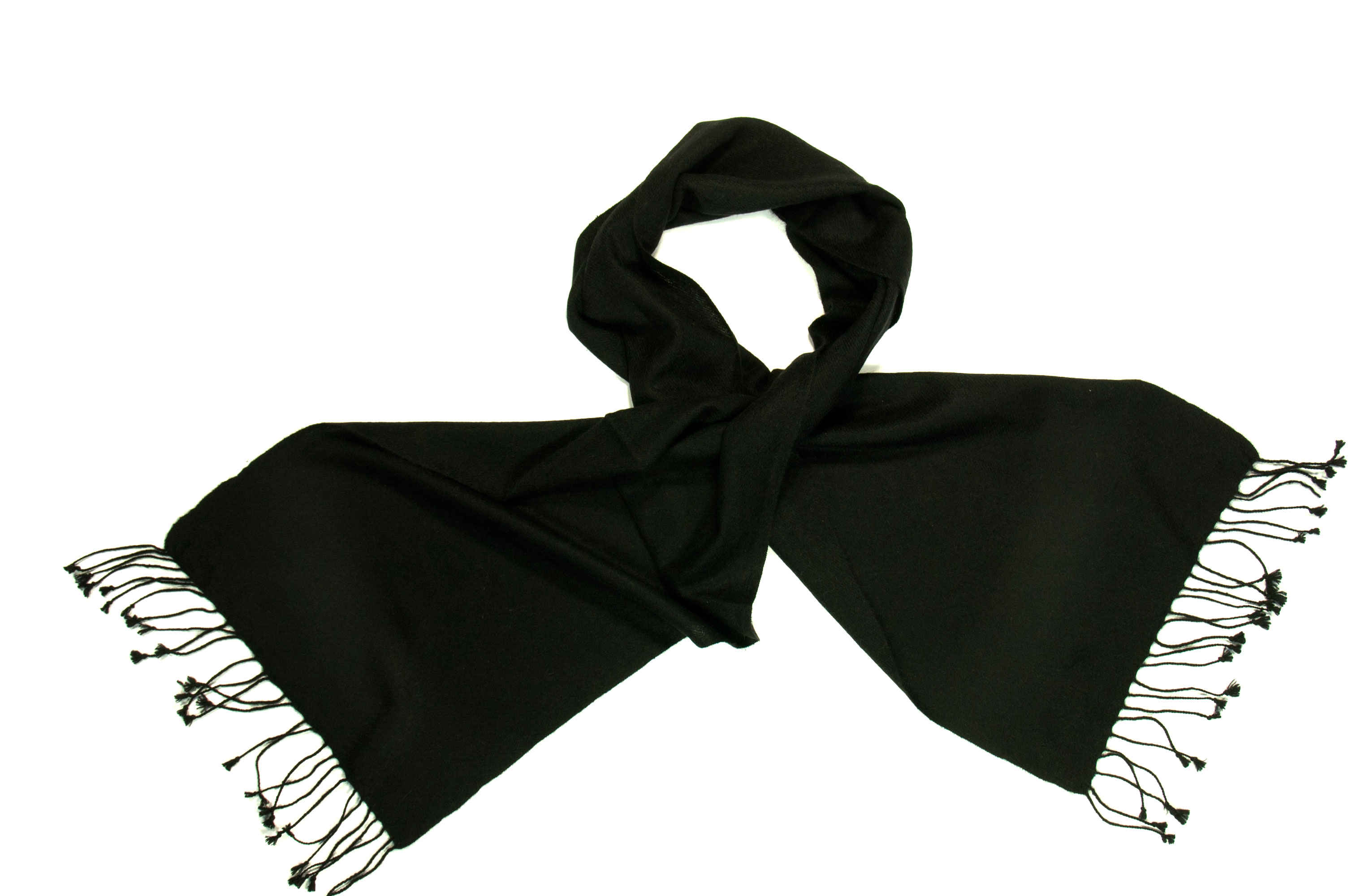 Pashmina scarf all black