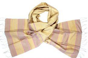Soft silk scarf ivory