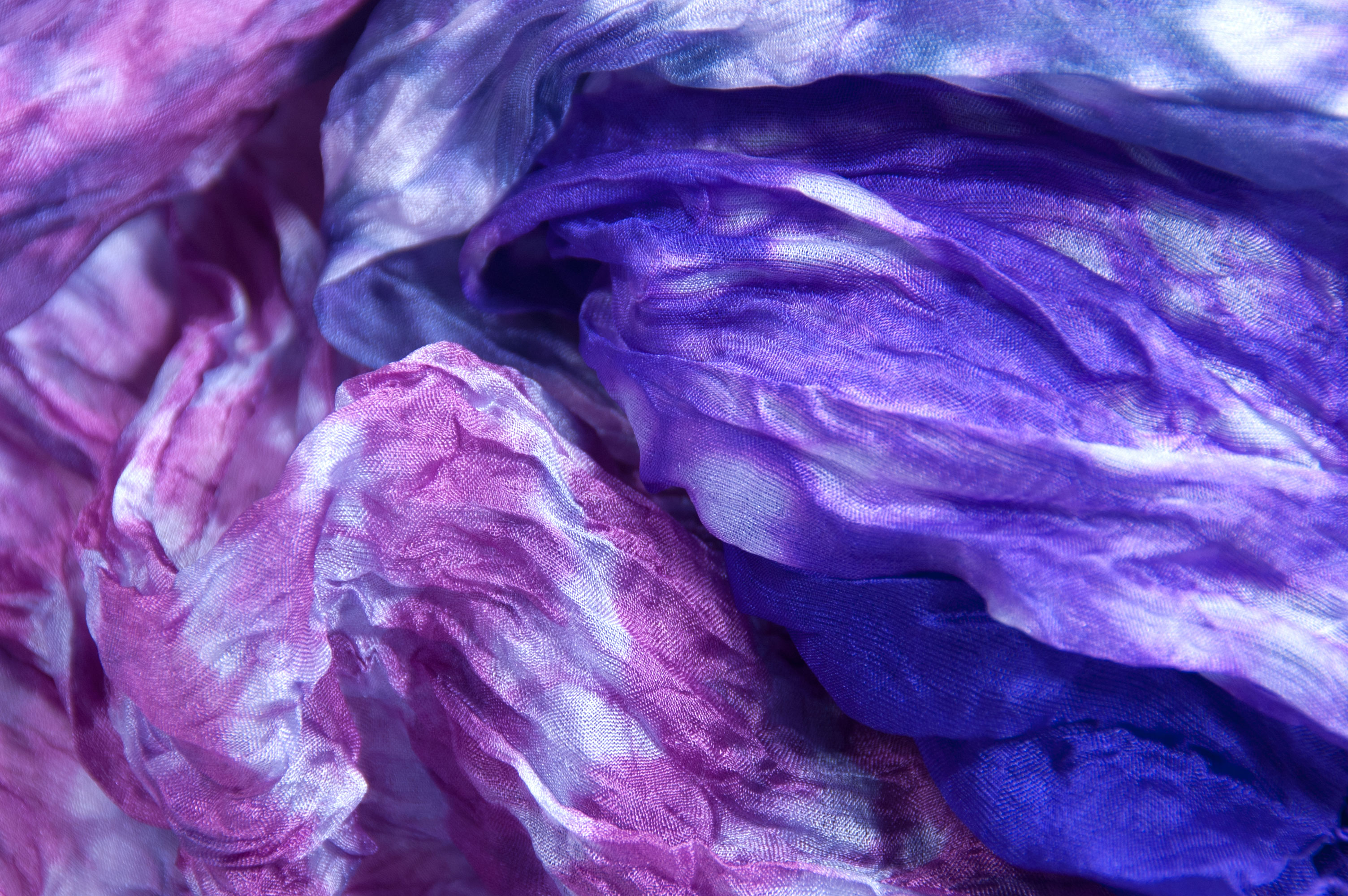 Zijden sjaal Vinita kolibrie