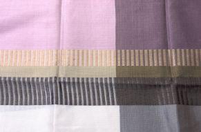 Zijden sjaal chorebab - close up