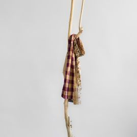 Kantha katoenen sjaal squares