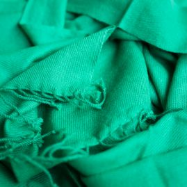 Pashmina sjaal smaragdgroen