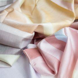Silk shawl candy rainbow