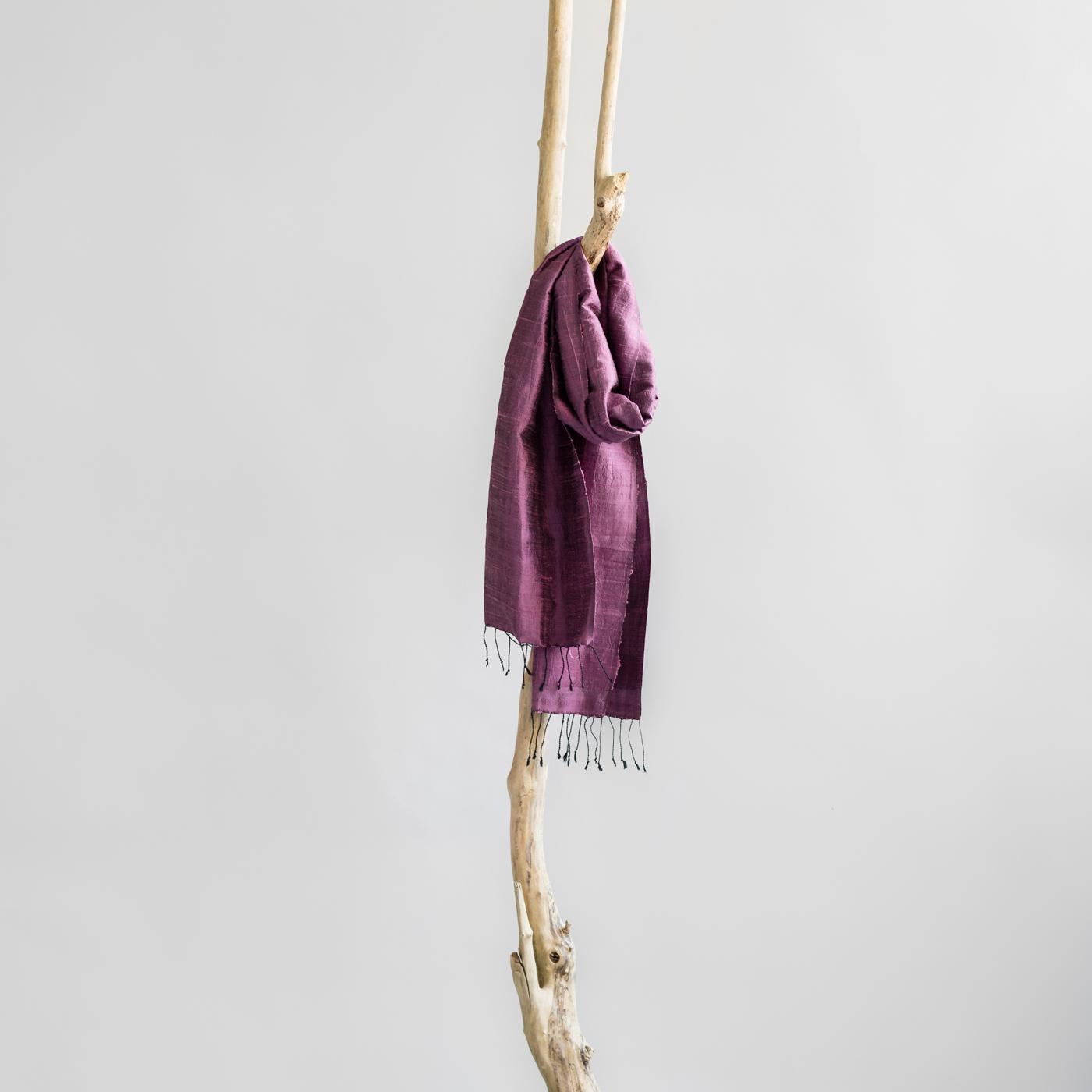 Zijden sjaal orchidee