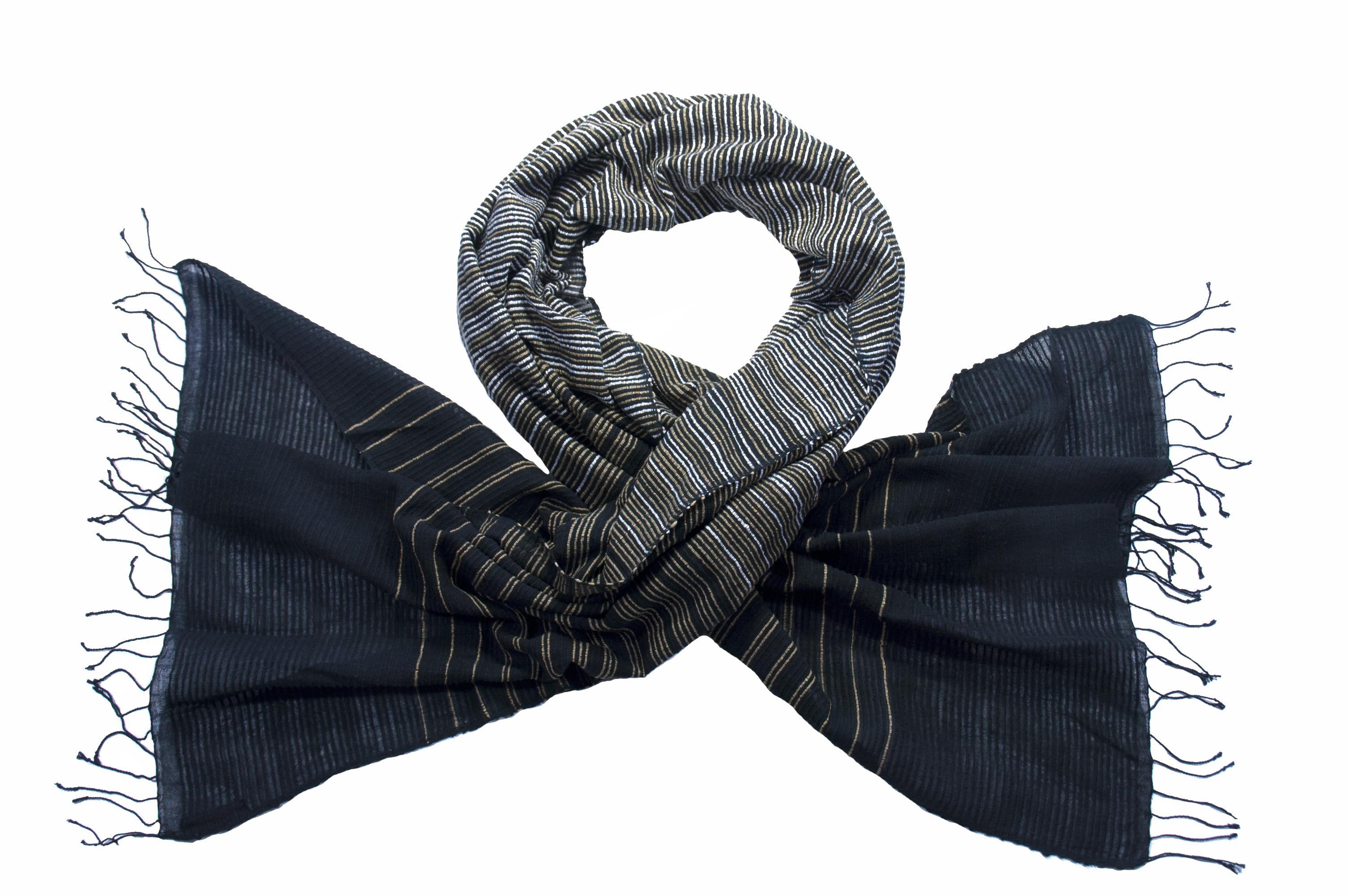 Katoenen sjaal Deborah