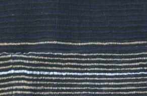 Katoenen sjaal Deborah - close up