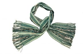 Alpaca shawl turquois