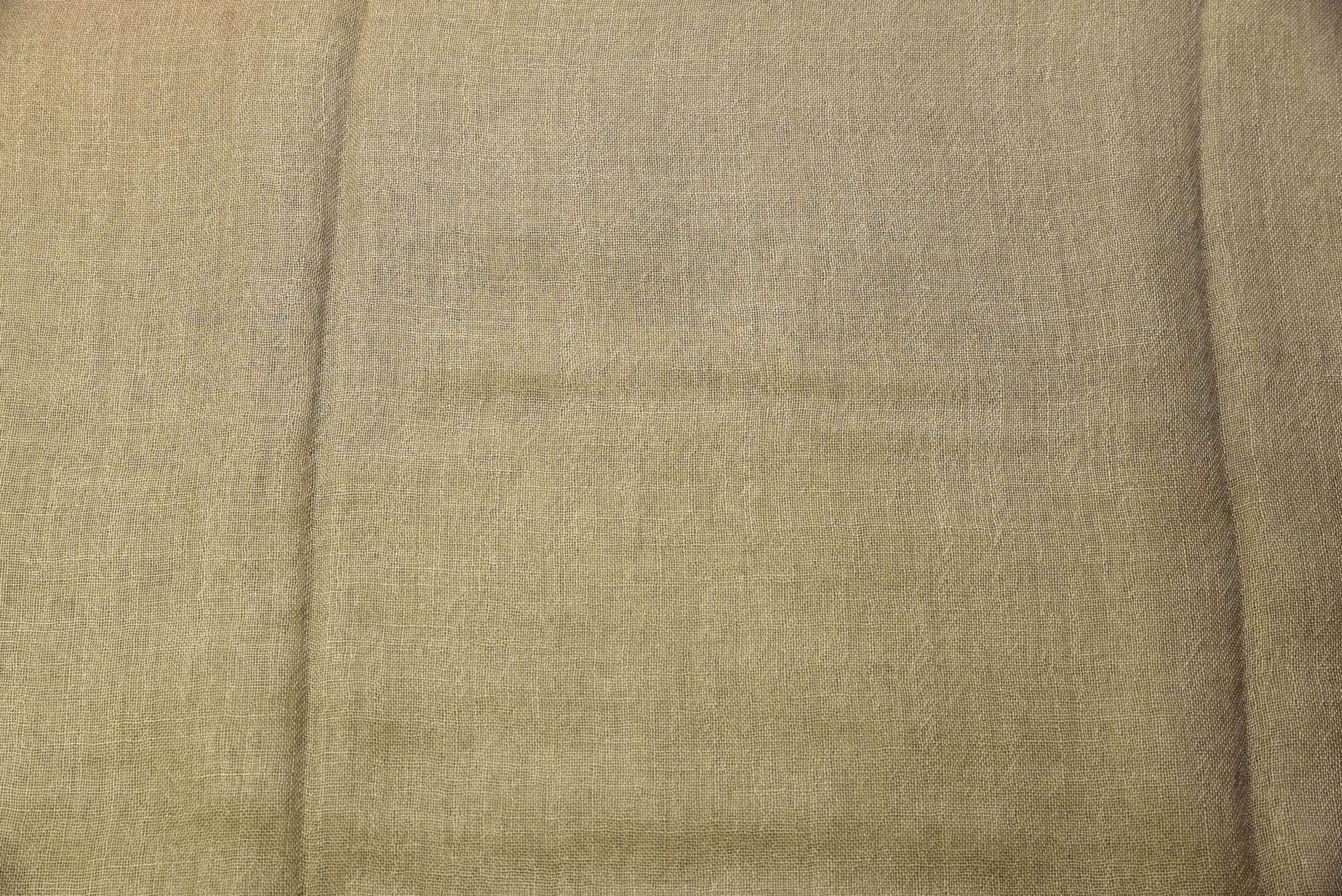 Cashmere sjaal olijfgrijs
