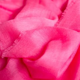 Cashmere sjaal pink