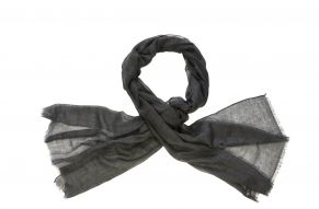 Cashmere shawl smokey grey