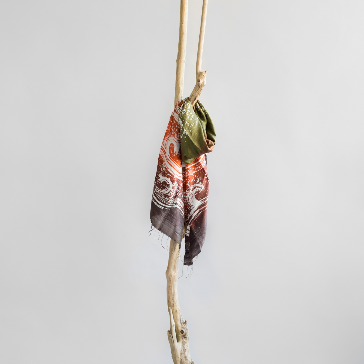 Silk scarf Indian Summer
