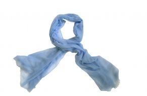 Cashmere pashmina baby blue