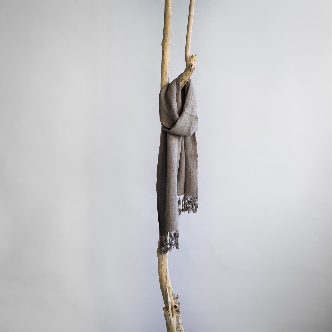 Lotus silk scarf Mandala
