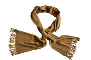 Lotus silk scarf Monk