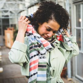 Cotton scarf Timkit