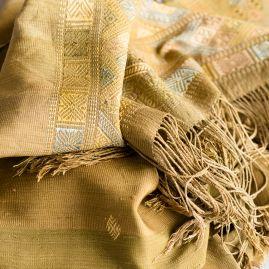 Silk scarf natural Thimpu