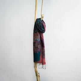 Cashmere sjaal paisley herfst