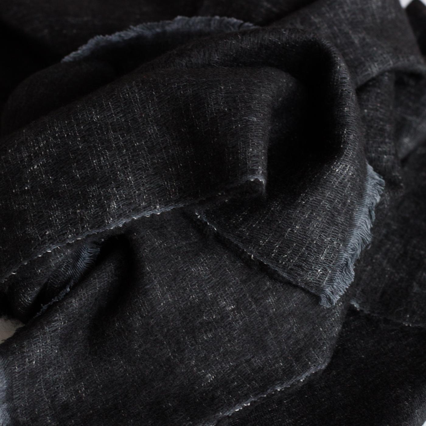 Yak sjaal midnight blue