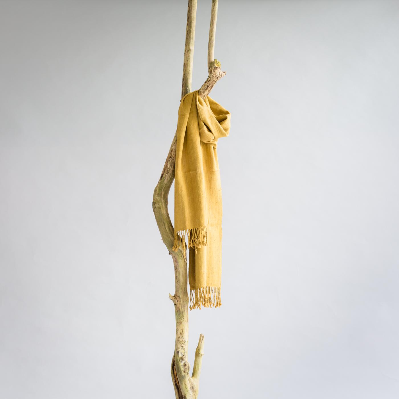 Lotus silk scarf Bagan