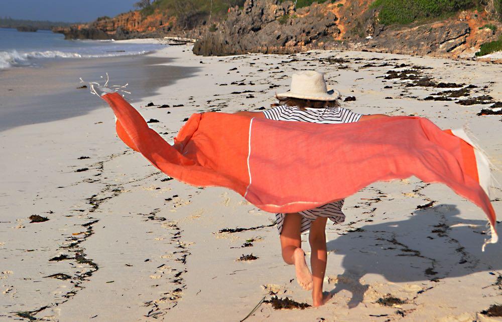 Beach towel Abay oranges