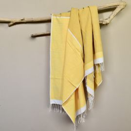 Beach towel Abay yellows