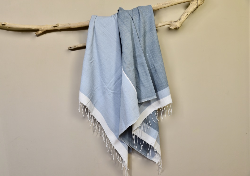 Beach towel Abay grays