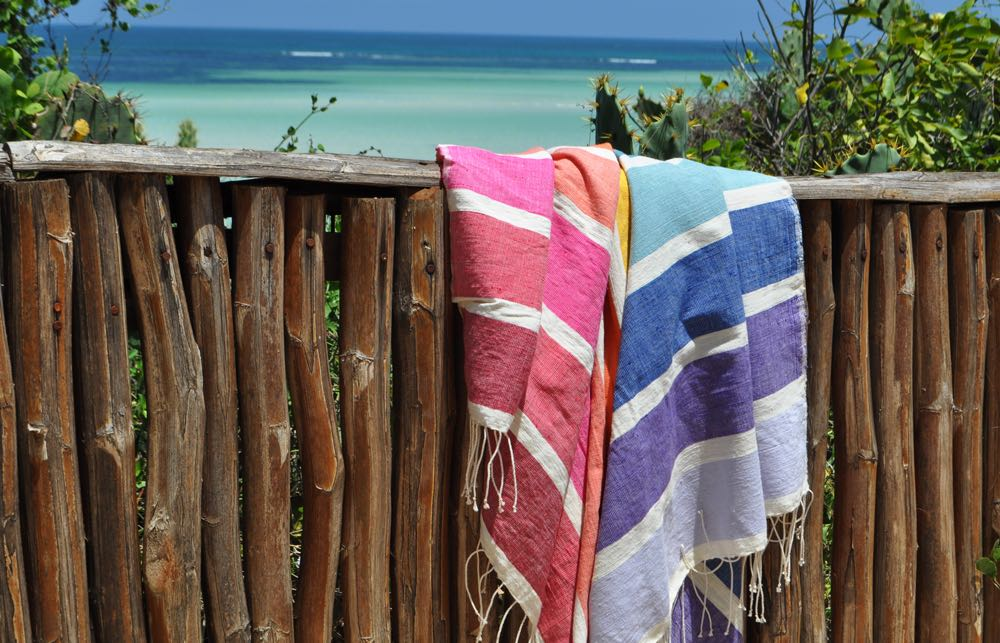 Beach towel Kalam rainbow