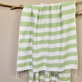 Beach towel Omo lime
