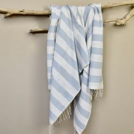 Beach towel Omo light gray