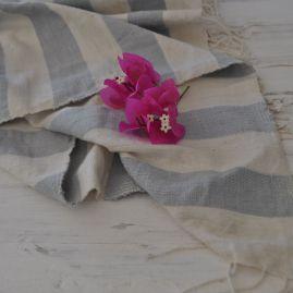 Beach towel Omo lichtgrijs