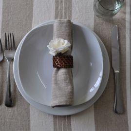 Zulu tafelkleed beige