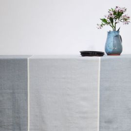Raya tablecloth grays