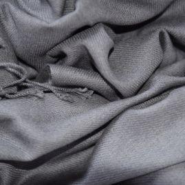Cashmere stola/sjaal antraciet
