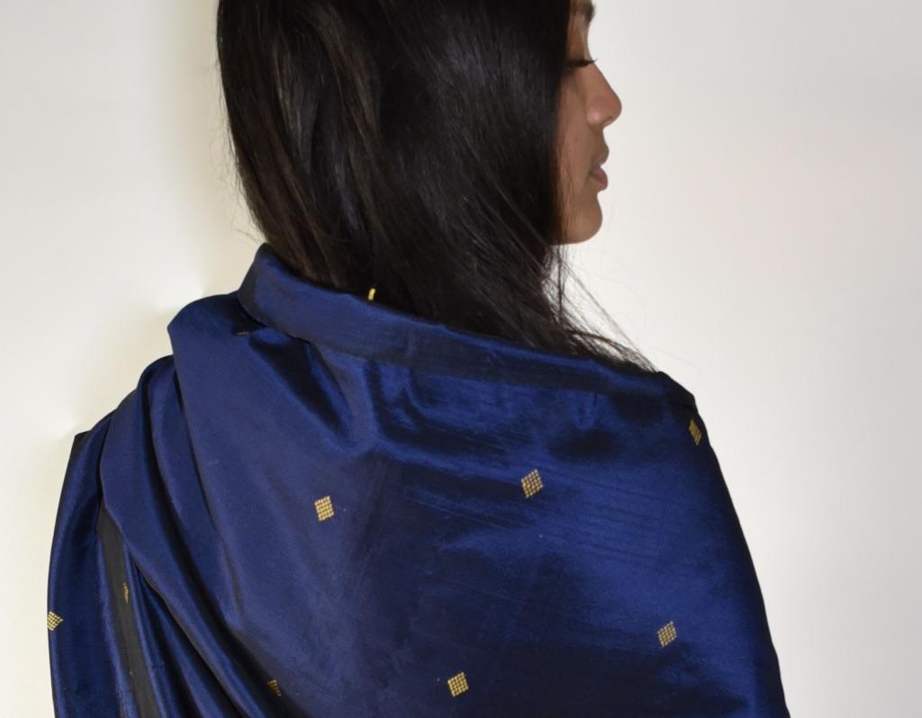 Zijden sjaal uit Sumatra
