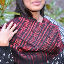 Cotton scarf from Sumatra